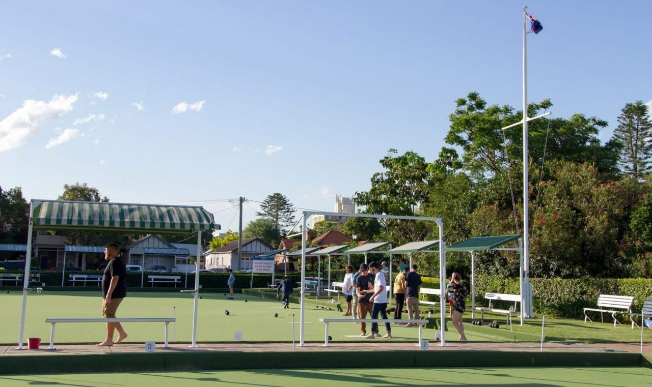 Barefoot Bowling - Lowlands Bowling Club
