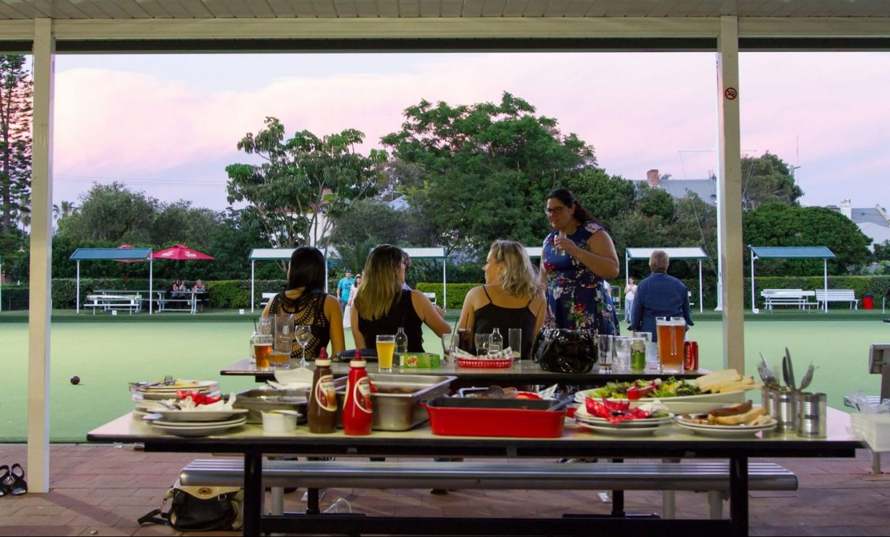 Outdoor Dining BBQ - Lowlands Bowling Club