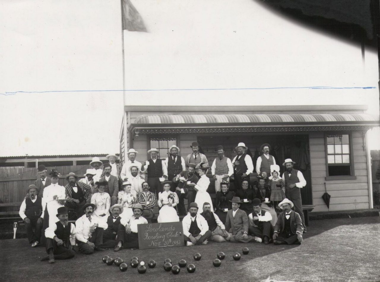 Lowlands Bowling Club - November 30th, 1893